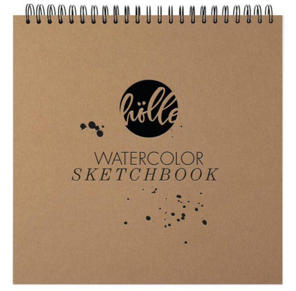 Frau Hölle Watercolor Sketchbook