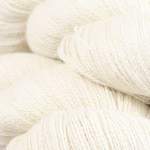 The Fibre MEADOW Queen Anne's Lace swatch
