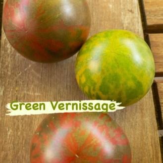 Vernissage, Green / Black