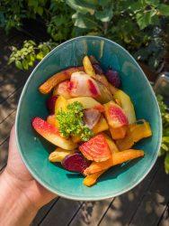 Gerade haben Beete und Karotten Saison.