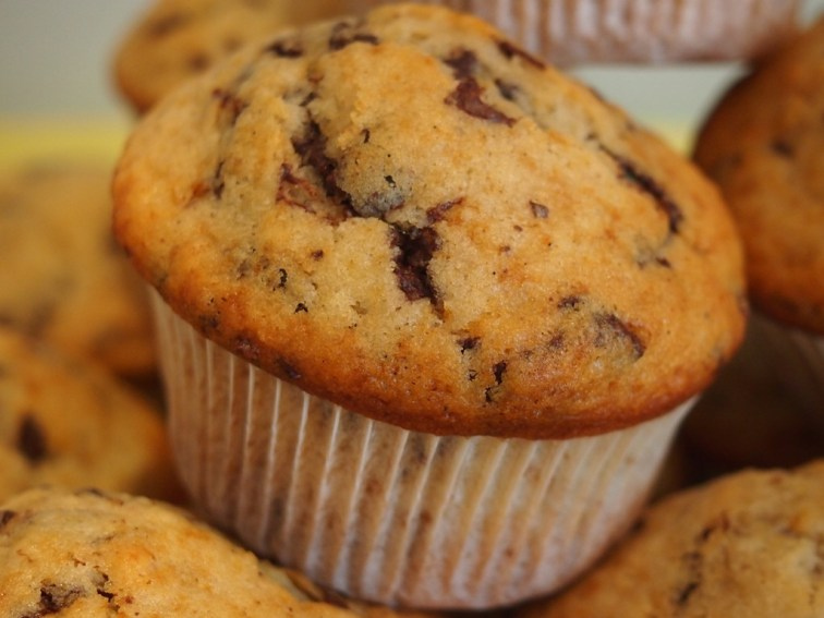 Ein ganz klassischer Schoko-Muffin