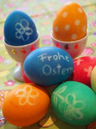 Viele, viele bunte Eier