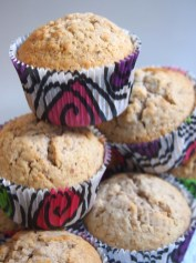 Ohne die Verzierung kann man noch Muffin-Türmchen bauen