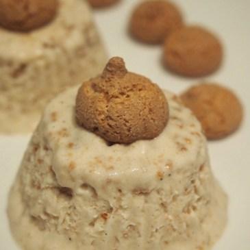 Dessert-Vorschlag für Weihnachten: Amarettini-Amaretto-Eistörtchen