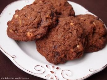 Zugreifen bitte: Es gibt Schoko-Cashew-Cookies