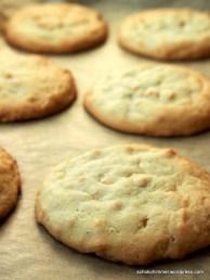 Double-Peanut-Cookies frisch aus dem Ofen