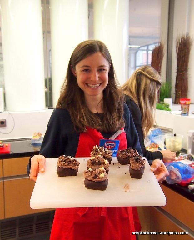 Schoko-Cupcakes: ab zum Foto-Shooting!