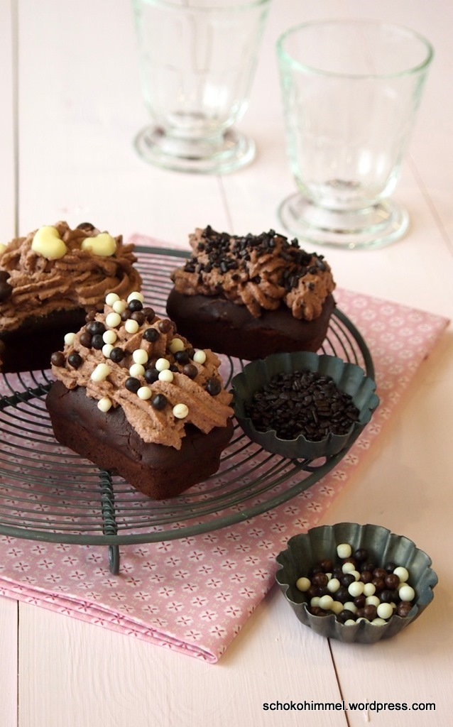 Sünde pur: Schoko-Cupcakes
