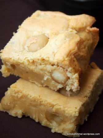 Süß & salzig: köstliche Blondies