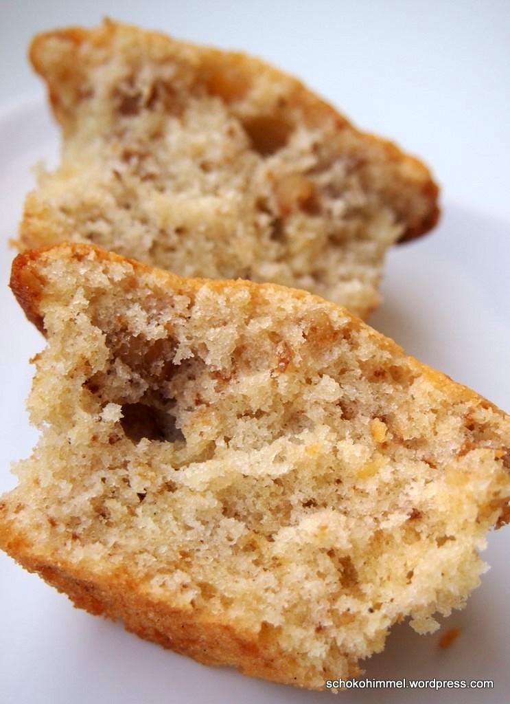 Haut rein: Diese Muffins sind cremig und knackig zugleich