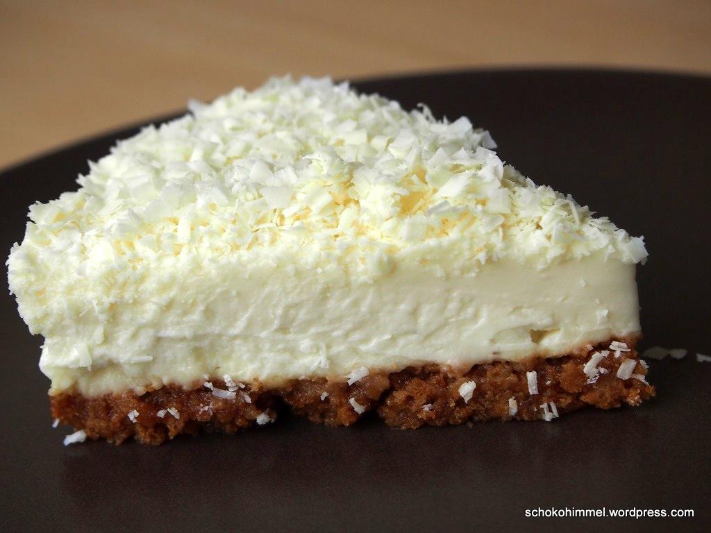 Sommer-Romanze: Ich back' mir… einen cremig-kühlen White Chocolate Cheesecake