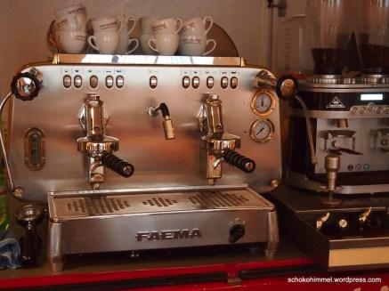 Gleich gibt's Espresso
