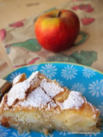 Saftige Apfel-Szarlotka