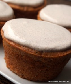 Zimt-Muffins mit Zimtcreme