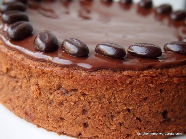 Saftiger, dunkler Schoko-Apfel-Kuchen