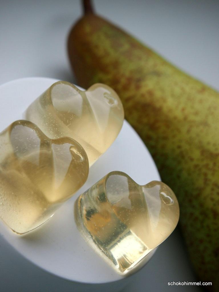 Fruchtgummi aus Birnensaft