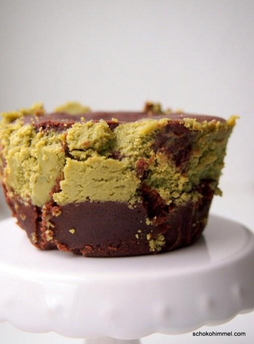 mächtig leckere XXL-Cheesecake-Brownie-Muffins