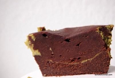 zum Reinsetzen leckere Cheesecake-Brownies