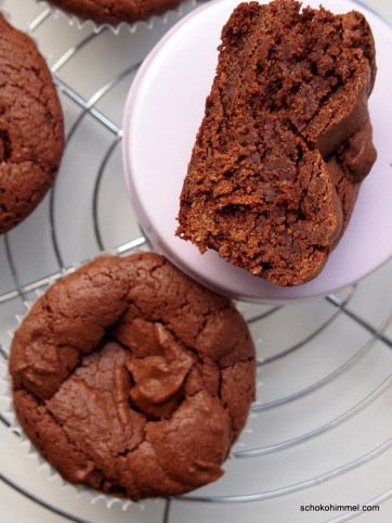 fudgy Brownies mit Tahini
