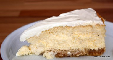 NY Cheesecake mit Schmand-Topping