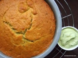 Avocado-Kuchen ist fertig!