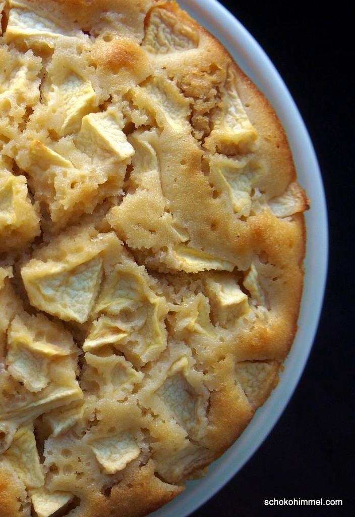 für den Herbst: Apfelkuchen
