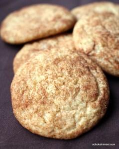 Mürbe Snickerdoodle Cookies