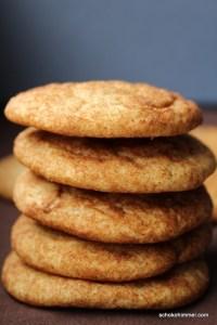 Zimtige Cookies gehen immer