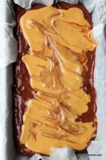 Schoko-Bananenbrot mit Erdnussbutter