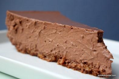 cremiger Schoko-Cheesecake mit Stout