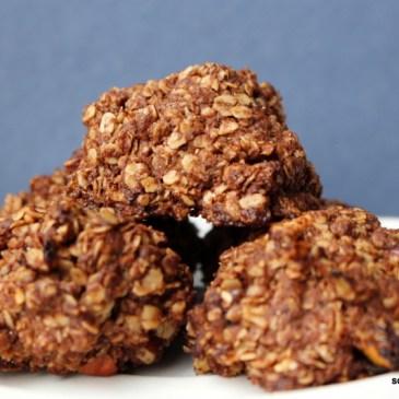 """Zu Gast bei… Marc und """"bake to the roots"""" mit Nougat-Hafer-Cookies"""
