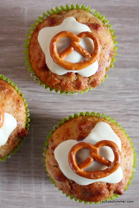 Muffins mit Salzgebäck