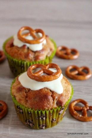 Salzbrezel-Muffins