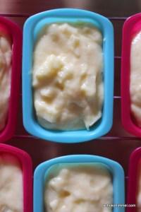 Teig für Apfelmuffins