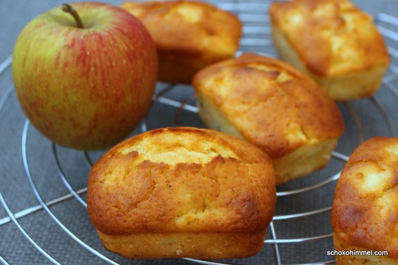 Fingerfood mit Äpfeln: Muffins