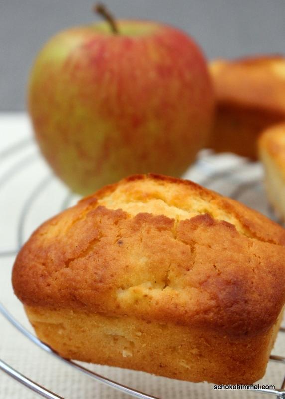 bewährtes Rezept: schnelle Apfelmuffins