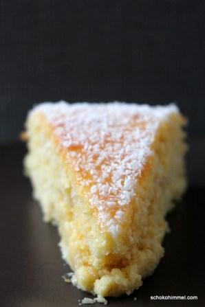 Kokos-Kuchen ohne Mehl