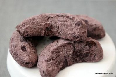 Clean baking Kakao-Kipferl