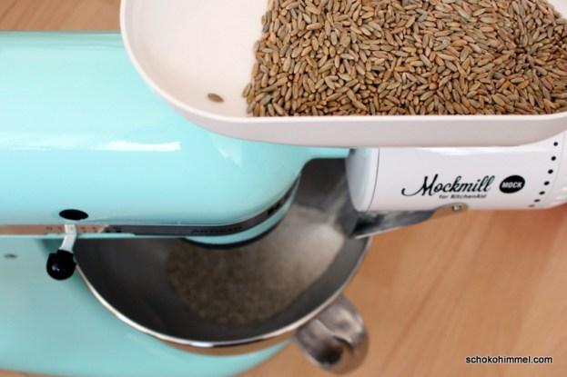 KitchenAid wird zur Getreidemühle