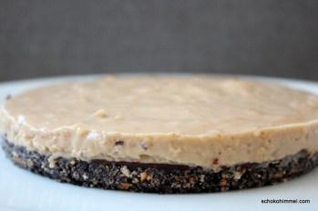 Kokospudding auf Keksboden