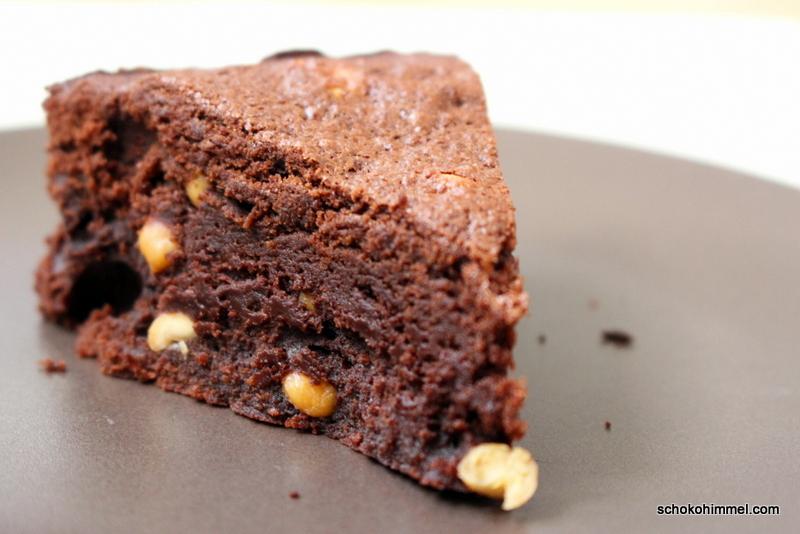 Leider geil: süß-salzige Erdnuss-Brownies (große Schokoliebe)