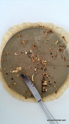 Cookie-Pizza... aufgefuttert