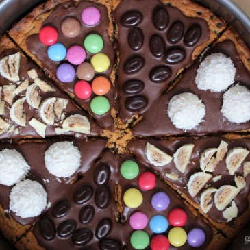 "Cookie-Pizza. Und alle so ""yeah""."