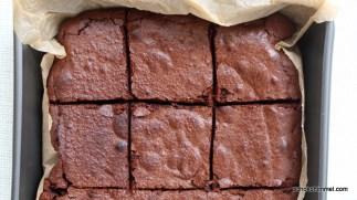 cremige Brownies