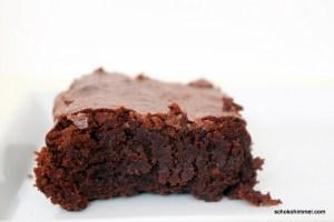 fudgy Schwarzbier-Brownies