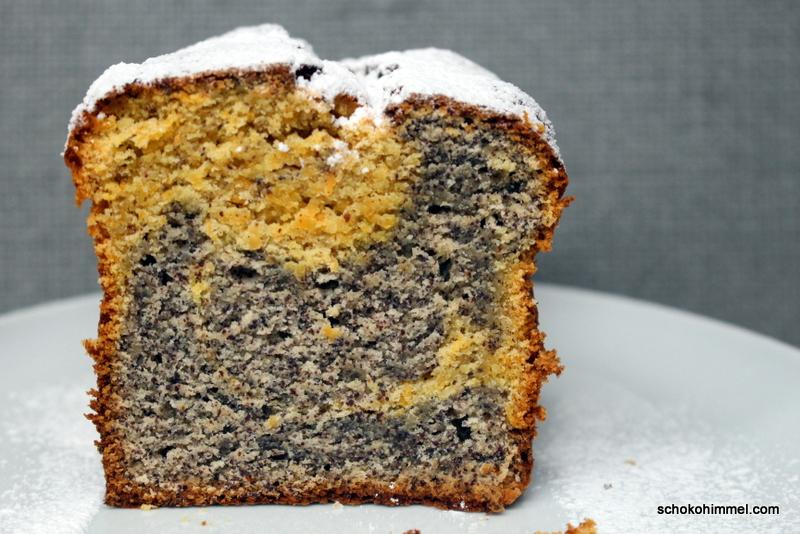 Soooo fein: Mohn-Möhren-Marmorkuchen