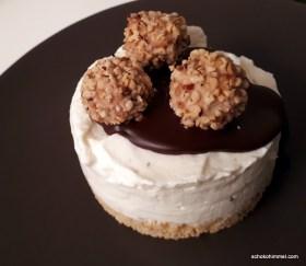 Cheesecake! Nachtisch geht immer...