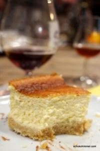 Löffelbiskuits als Cheesecake-Boden