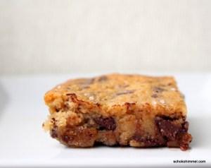Schokoladige Karamell-Brownies