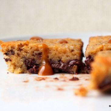 Soooo tolle Karamell-Brownies (machen!)